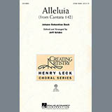 Download or print Johann Sebastian Bach Alleluia From Cantata 142 (arr. Jeff Kriske) Sheet Music Printable PDF 7-page score for Concert / arranged 3-Part Treble Choir SKU: 97365.