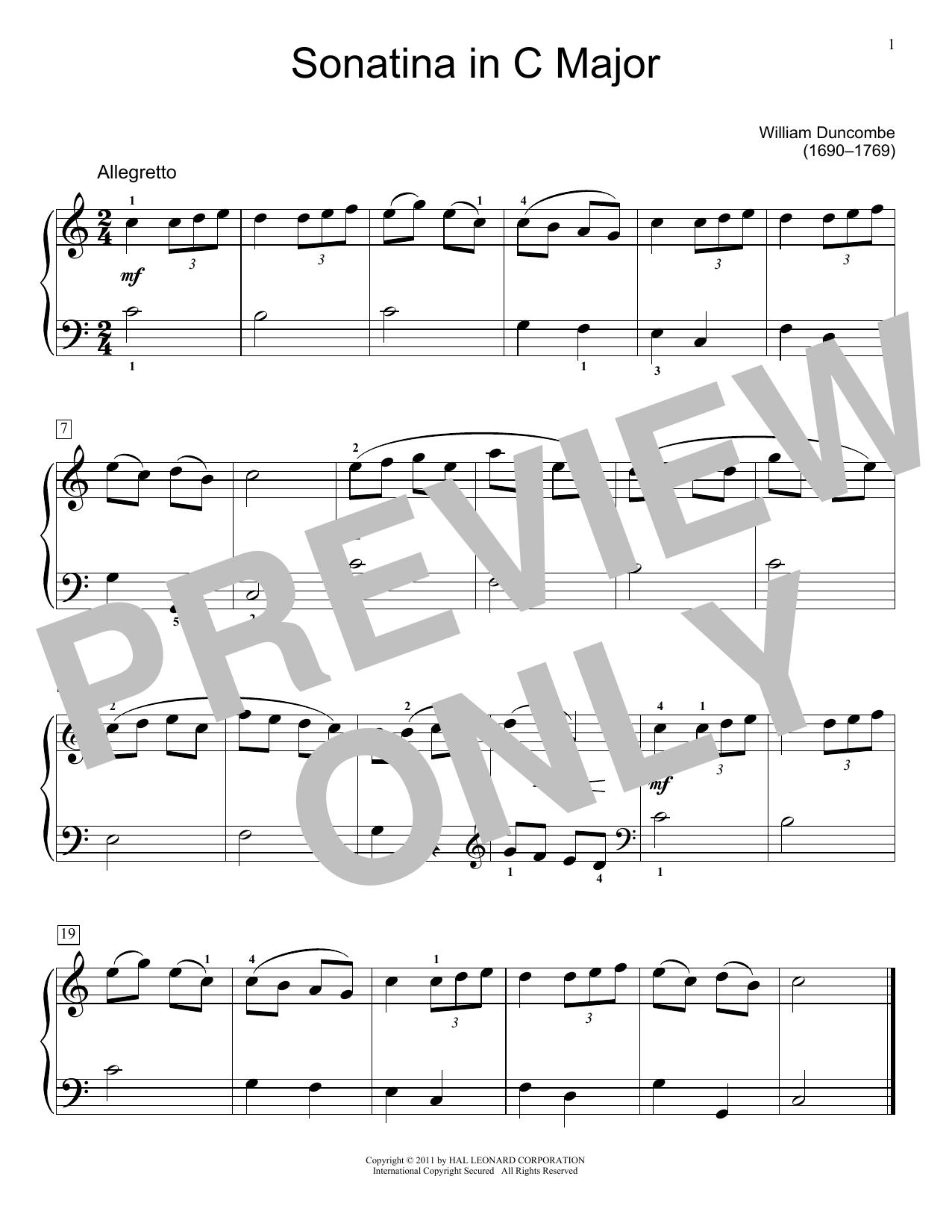 Jennifer Linn Sonatina sheet music notes and chords. Download Printable PDF.