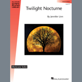 Download or print Jennifer Linn Twilight Nocturne Sheet Music Printable PDF 4-page score for Classical / arranged Educational Piano SKU: 410296.