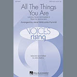 Download Jerome Kern 'All The Things You Are (arr. Janet Whitcomb Pummill)' Printable PDF 14-page score for Jazz / arranged SATB Choir SKU: 426464.