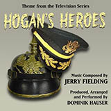 Download or print Jerry Fielding Hogan's Heroes March Sheet Music Printable PDF 2-page score for Film/TV / arranged Piano Solo SKU: 93061.