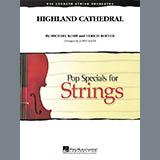 Download Jim Kazik 'Highland Cathedral - Violin 1' Printable PDF 1-page score for Wedding / arranged Orchestra SKU: 281675.