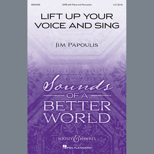 Easily Download Jim Papoulis Printable PDF piano music notes, guitar tabs for SATB Choir. Transpose or transcribe this score in no time - Learn how to play song progression.