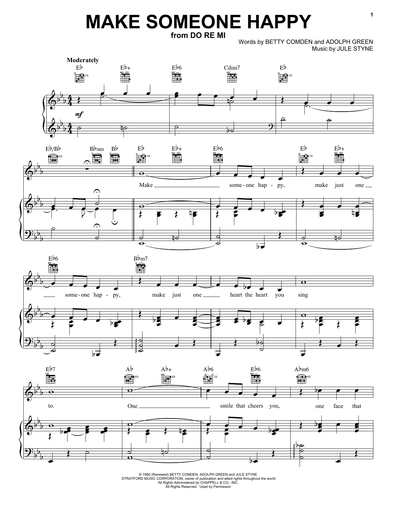jimmy duarante make someone happy sheet music pdf notes chords jazz score piano vocal guitar right hand melody download printable sku 52338 jimmy duarante make someone happy sheet music notes chords download printable piano vocal guitar right hand melody sku 52338