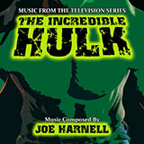 Download or print Joe Harnell The Incredible Hulk Sheet Music Printable PDF 3-page score for Film/TV / arranged Big Note Piano SKU: 54572.