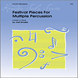 Download Joel Smales 'Festival Pieces For Multiple Percussion' Printable PDF 13-page score for Concert / arranged Percussion Solo SKU: 376383.