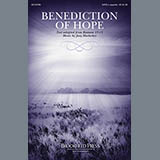 Download or print Joey Hoelscher Benediction Of Hope Sheet Music Printable PDF 3-page score for A Cappella / arranged SATB Choir SKU: 157002.