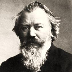 Download Johannes Brahms 'An Eine Aeolsharfe (from Five Poems, Op. 19)' Printable PDF 3-page score for Classical / arranged Piano Solo SKU: 27419.
