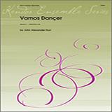 Download or print John Alexander Durr Vamos Dancar - Percussion 1 Sheet Music Printable PDF 3-page score for Concert / arranged Percussion Ensemble SKU: 361018.