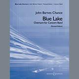 Download John Barnes Chance 'Blue Lake (Overture for Concert Band) - Bb Contrabass Clarinet' Printable PDF 2-page score for Concert / arranged Concert Band SKU: 382564.