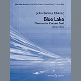 Download John Barnes Chance 'Blue Lake (Overture for Concert Band) - Eb Baritone Sax' Printable PDF 2-page score for Concert / arranged Concert Band SKU: 382569.