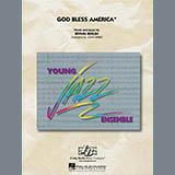 Download John Berry 'God Bless America - Conductor Score (Full Score)' Printable PDF 8-page score for Patriotic / arranged Jazz Ensemble SKU: 285115.