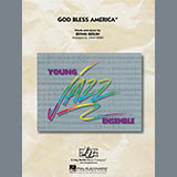 Download or print John Berry God Bless America - Trombone 4 Sheet Music Printable PDF 1-page score for Patriotic / arranged Jazz Ensemble SKU: 285128.