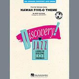 Download John Berry 'Hawaii Five-O Theme - Trumpet 1' Printable PDF 2-page score for Film/TV / arranged Jazz Ensemble SKU: 301339.