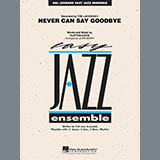 Download John Berry 'Never Can Say Goodbye - Aux Percussion' Printable PDF 3-page score for Pop / arranged Jazz Ensemble SKU: 293110.