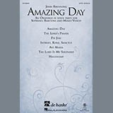 Download or print John Brunning Amazing Day Sheet Music Printable PDF 72-page score for Concert / arranged SATB Choir SKU: 160821.