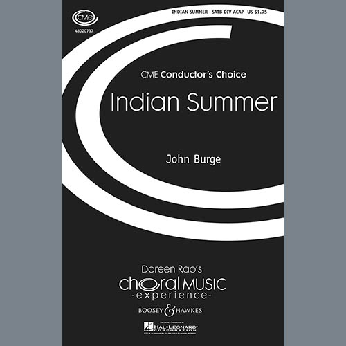 Easily Download John Burge Printable PDF piano music notes, guitar tabs for SATB Choir. Transpose or transcribe this score in no time - Learn how to play song progression.