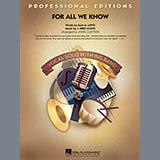 Download John Clayton 'For All We Know - Bass' Printable PDF 1-page score for Jazz / arranged Jazz Ensemble SKU: 295038.