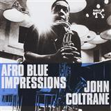 Download or print John Coltrane Afro Blue Sheet Music Printable PDF 1-page score for Latin / arranged Real Book – Melody & Chords – Bb Instruments SKU: 61402.