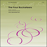 Download or print John Durr The Four Bucketeers - Percussion 4 Sheet Music Printable PDF 9-page score for Concert / arranged Percussion Ensemble SKU: 404782.