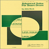 Download or print John H. Beck Advanced Solos For Snare Drum Sheet Music Printable PDF 12-page score for Classical / arranged Percussion Solo SKU: 124877.