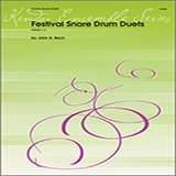 Download or print John H. Beck Festival Snare Drum Duets Sheet Music Printable PDF 20-page score for Classical / arranged Percussion Ensemble SKU: 124879.