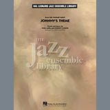 Download John Higgins 'Johnny's Theme (from The Tonight Show) - Aux Percussion' Printable PDF 1-page score for Film/TV / arranged Jazz Ensemble SKU: 285176.