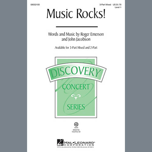 Easily Download John Jacobson Printable PDF piano music notes, guitar tabs for 3-Part Mixed Choir. Transpose or transcribe this score in no time - Learn how to play song progression.