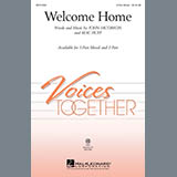 Download or print John Jacobson Welcome Home Sheet Music Printable PDF 7-page score for Concert / arranged 2-Part Choir SKU: 289547.