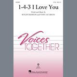 Download or print John Jacobson & Roger Emerson 1-4-3 I Love You Sheet Music Printable PDF 7-page score for Children / arranged 2-Part Choir SKU: 415588.
