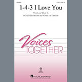 Download John Jacobson & Roger Emerson '1-4-3 I Love You' Printable PDF 7-page score for Children / arranged 2-Part Choir SKU: 415588.