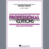 Download John La Barbera 'Roman Notes - Drums' Printable PDF 3-page score for Festival / arranged Jazz Ensemble SKU: 340183.