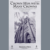 Download or print John Leavitt Crown Him With Many Crowns Sheet Music Printable PDF 11-page score for Sacred / arranged 2-Part Choir SKU: 197975.