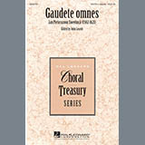 Download or print John Leavitt Gaudete Omnes Sheet Music Printable PDF 14-page score for A Cappella / arranged SATB Choir SKU: 290521.