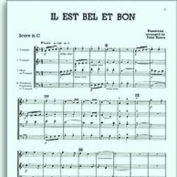 Download or print John Leavitt Il Est Bel Et Bon (A Good And Handsome Man) Sheet Music Printable PDF 11-page score for A Cappella / arranged SSA Choir SKU: 159586.