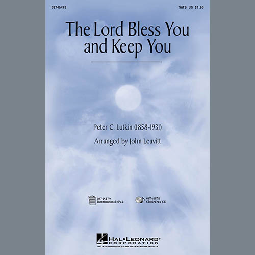 Easily Download Peter C. Lutkin Printable PDF piano music notes, guitar tabs for SATB Choir. Transpose or transcribe this score in no time - Learn how to play song progression.