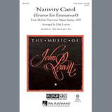 Download or print John Leavitt Nativity Carol (Enatus Est Emmanuel) Sheet Music Printable PDF 9-page score for Christmas / arranged 2-Part Choir SKU: 290423.