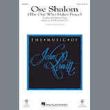 Download or print John Leavitt Ose Shalom (The One Who Makes Peace) Sheet Music Printable PDF 7-page score for Jewish / arranged 2-Part Choir SKU: 426236.
