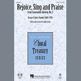 Download John Leavitt 'Rejoice, Sing And Praise - Harpsichord' Printable PDF 1-page score for Concert / arranged Choir Instrumental Pak SKU: 305098.