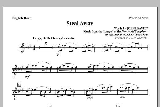 John Leavitt Steal Away (Steal Away To Jesus) - English Horn sheet music notes and chords. Download Printable PDF.
