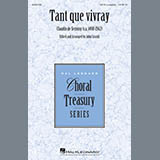 Download John Leavitt 'Tant Que Vivray' Printable PDF 7-page score for Renaissance / arranged SATB Choir SKU: 410401.