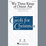Download or print John Leavitt We Three Kings Of Orient Are Sheet Music Printable PDF 7-page score for Christmas / arranged TTB Choir SKU: 251156.