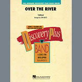 Download or print John Moss Over the River - Bb Tenor Saxophone Sheet Music Printable PDF 1-page score for Christmas / arranged Concert Band SKU: 346139.