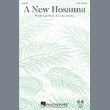 Download or print John Purifoy A New Hosanna Sheet Music Printable PDF 2-page score for Concert / arranged Handbells SKU: 87776.