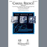 Download or print John Purifoy Carols, Rejoice (Medley) Sheet Music Printable PDF 10-page score for Christmas / arranged 2-Part Choir SKU: 97992.
