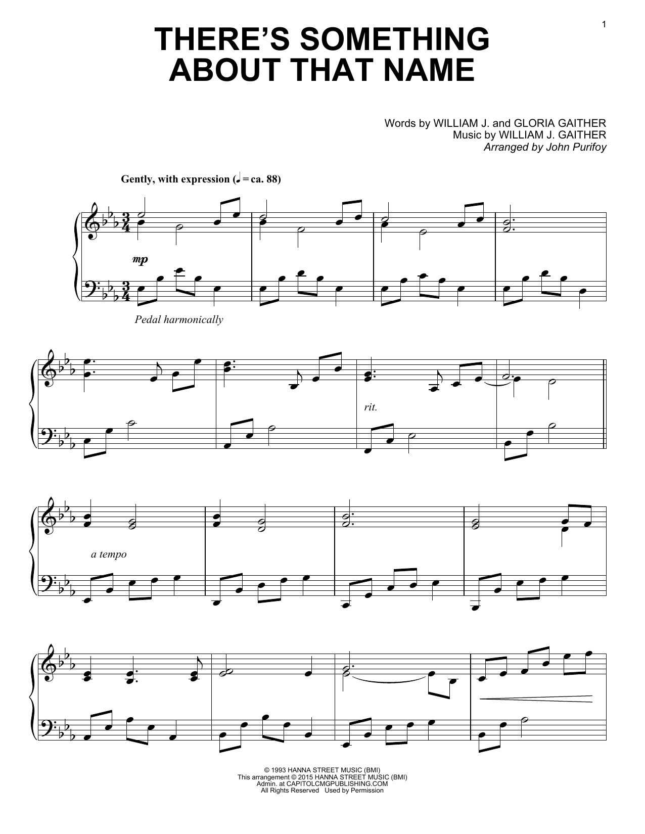 Gaither Vocal Band There's Something About That Name sheet music notes and chords. Download Printable PDF.