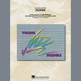Download John Wasson 'Clocks - Conductor Score (Full Score)' Printable PDF 12-page score for Alternative / arranged Jazz Ensemble SKU: 300648.