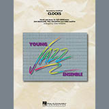 Download John Wasson 'Clocks - Trombone 3' Printable PDF 2-page score for Alternative / arranged Jazz Ensemble SKU: 300661.