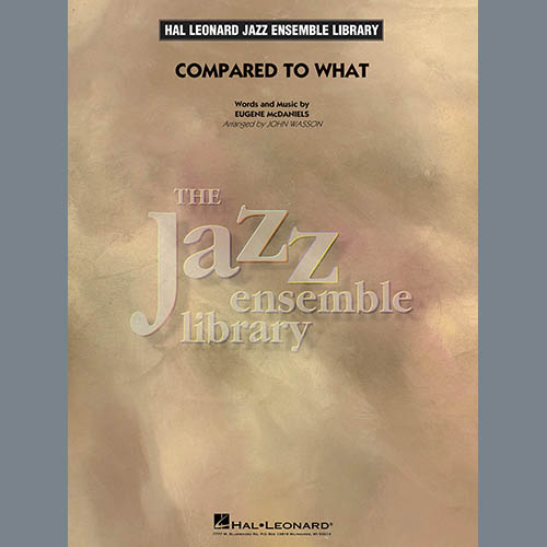 Easily Download John Wasson Printable PDF piano music notes, guitar tabs for Jazz Ensemble. Transpose or transcribe this score in no time - Learn how to play song progression.