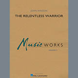 Download John Wasson 'The Relentless Warrior - Percussion 1' Printable PDF 1-page score for Contest / arranged Concert Band SKU: 456043.